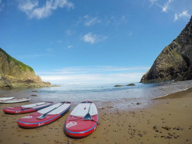 Paddle meilleures activités aquatiques à Jersey