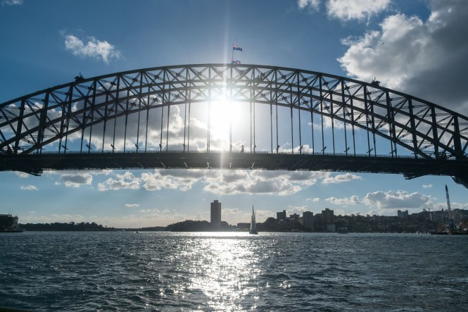 pont de Sydney Harbour bridge
