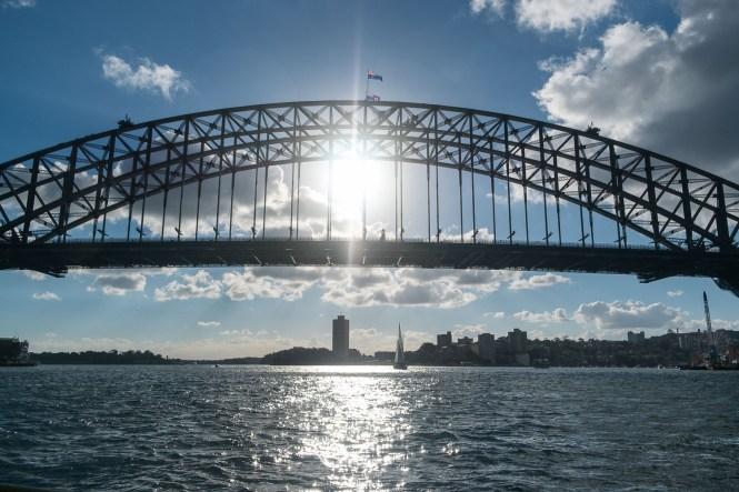 pont de Sydney Harbour bridge centre