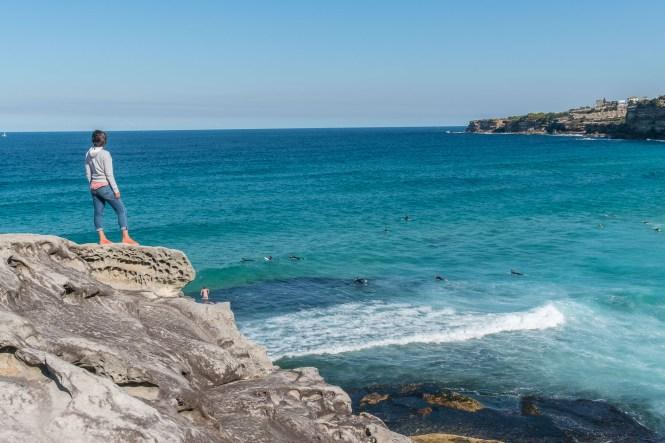 Tamarama beach Coogee to Bondi walk