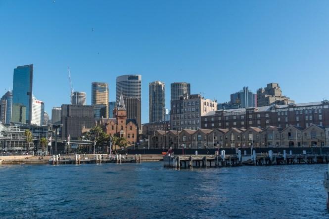 Le quartier The Rocks quartiers de Sydney