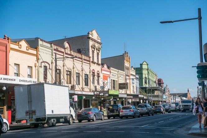 Le quartier de Newtown quartiers de Sydney