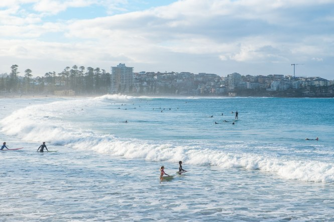 Manly Beach plage de Sydney