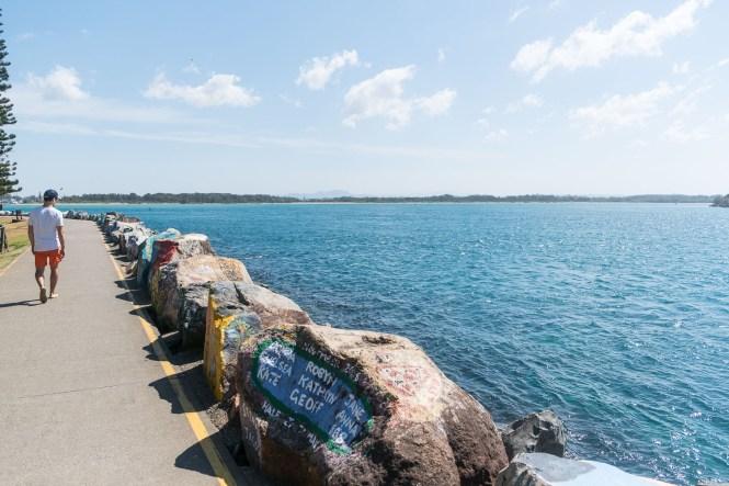 Break Wall digue port macquarie