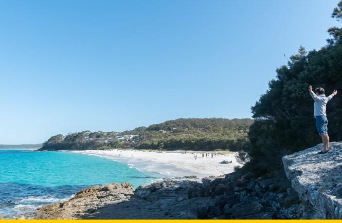 Chinamans Beach shoalhaven jervis beach 100 beach challenge