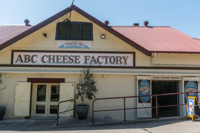 Tilba Tilba et l'ABC Cheese Factory bend boyd national park