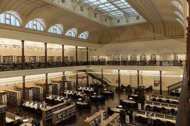 Que faire à Melbourne State Library