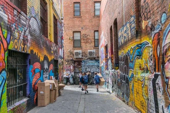 QUEEN VICTORIA MARKET melbourne street art