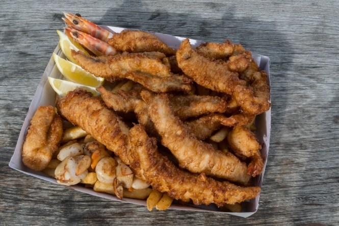 Fish & Chips au Gulch Bicheno en tasmanie itinéraire de 2 semaines