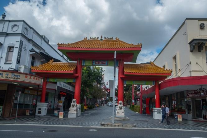 Chinatown visiter Brisbane