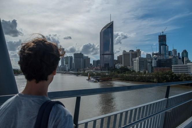 Goodwill Bridge visiter Brisbane
