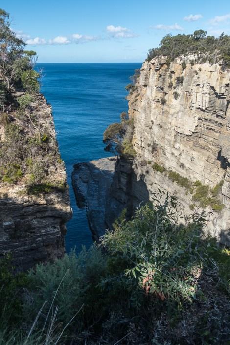 Devil's Kitchen Lookout tasmans arch lookout ROAD TRIP en tasmanie itineraire 2 semaines