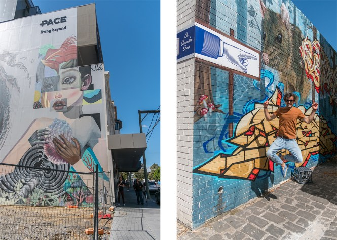 ST KILDA MELBOURNE STREET ART