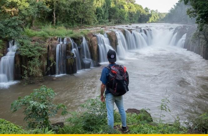 Plateau des boloven Itinéraire laos
