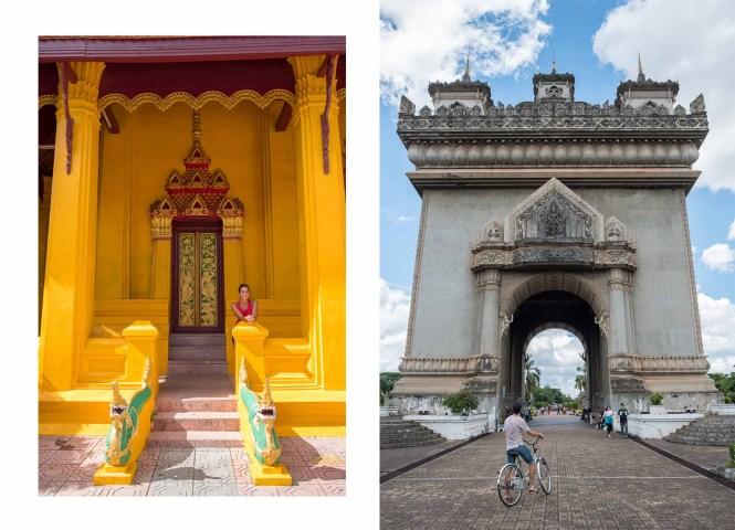 vientiane Itinéraire Laos