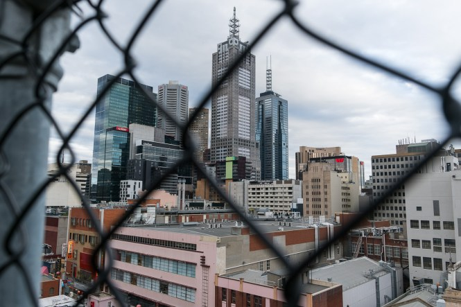 immeubles Melbourne Partir en australie