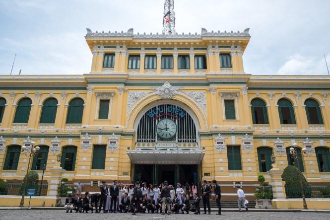 Poste centrale de Saigon visiter ho chi minh