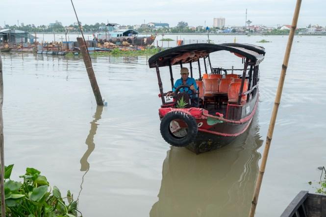 Bateau excursion delta du mékong vietnam