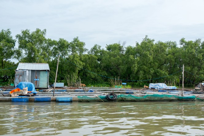 bac à crevettes delta du mékong vietnam