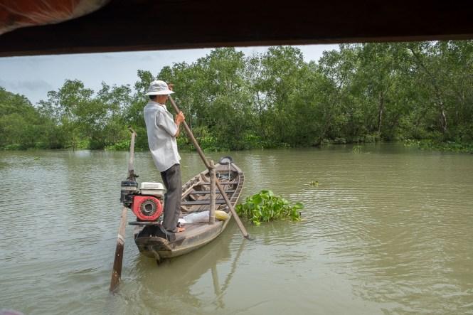 sampan delta du mékong vietnam