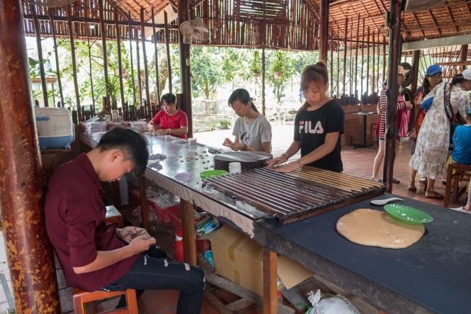 Con Phung l'île au Phenix delta du mékong vietnam