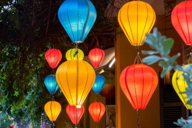 Hoi An by night vietnam