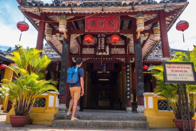 La maison communale de Cam Pho VISTER Hoi An vietnam