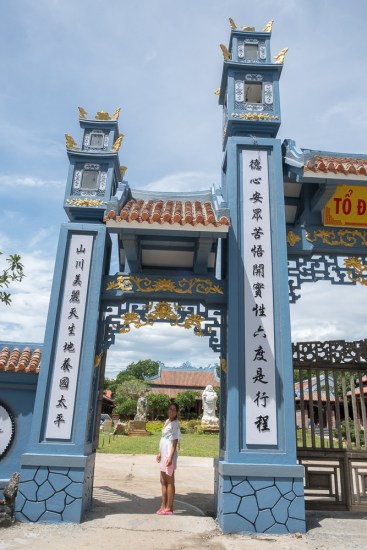temple hindou porte tra que visiter hoi an vietnam