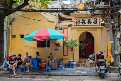 repas 36 rue des corporations Visiter hanoi