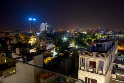 vue Skyline Bar visiter hanoi