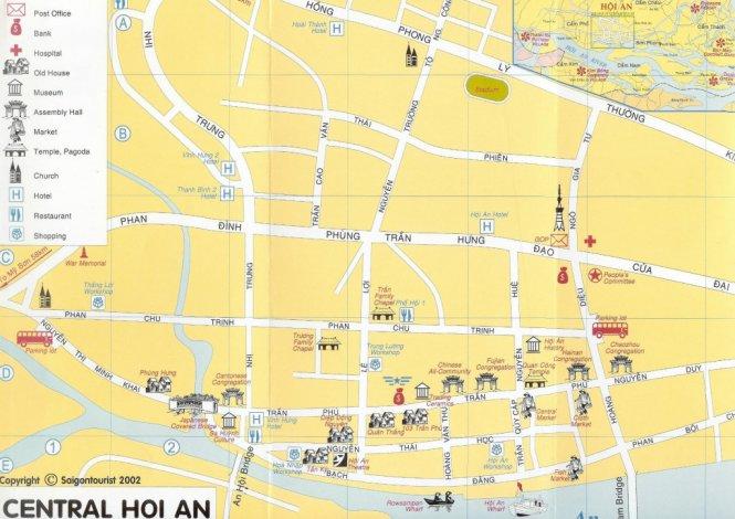 CARTE VISTER Hoi An vietnam
