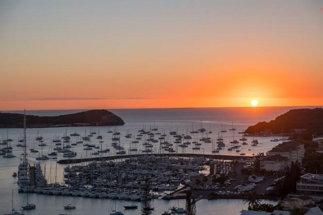 coucher-de-soleil-mont-venus-Nouméa-Nouvelle-Calédonie