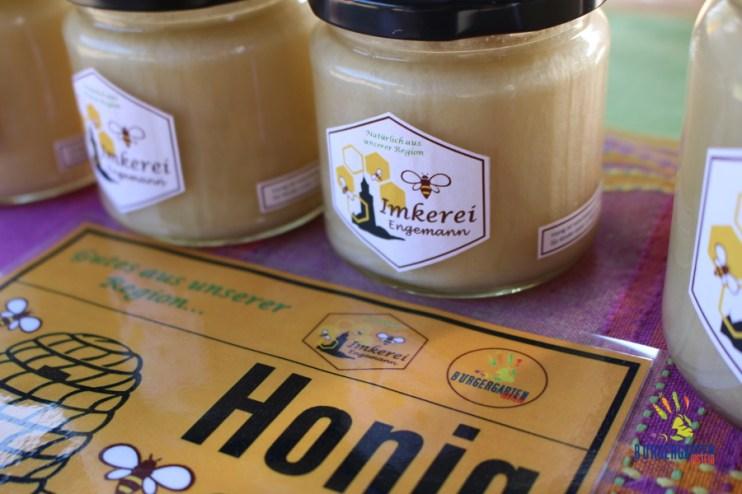 Erster Jahrgang mit Bürgergartentracht-Honig
