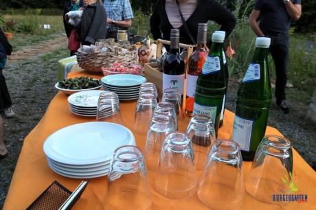 Premieren-Menü der Gartenküche