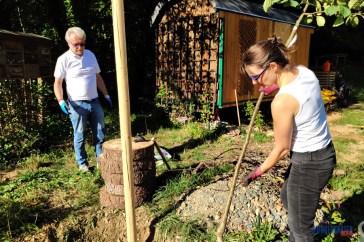 Pflanzloch paßt: Jan, Myriam