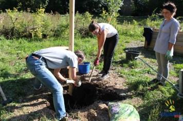 Bodenarbeiten: Birgit, Myriam