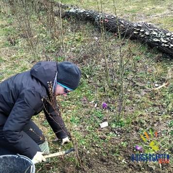 Wo Myriam jätet, ist die Erde hinterher frühjahrsbereit für neue Samen.