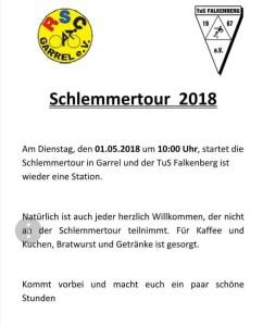Schlemmertour 2018