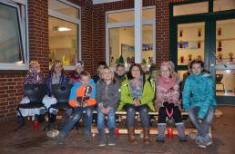Schülerinnen und Schüler der GS Falkenberg