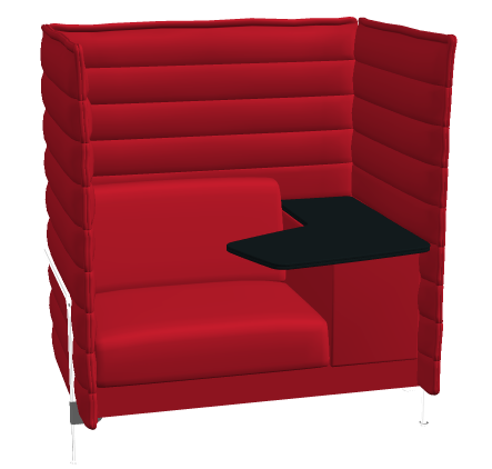Vitra alcove highback work b rom bel outlet for Vitra stuhle outlet