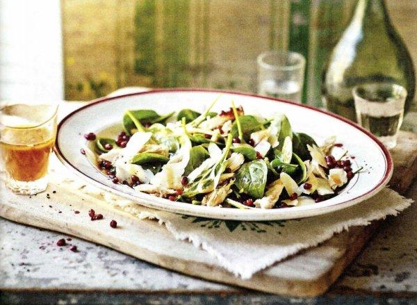 Салат с курицей от Джейми Оливера рецепт с фото пошаговый