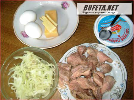 Салат Мужской каприз рецепт c фото | Кулинарный дневник