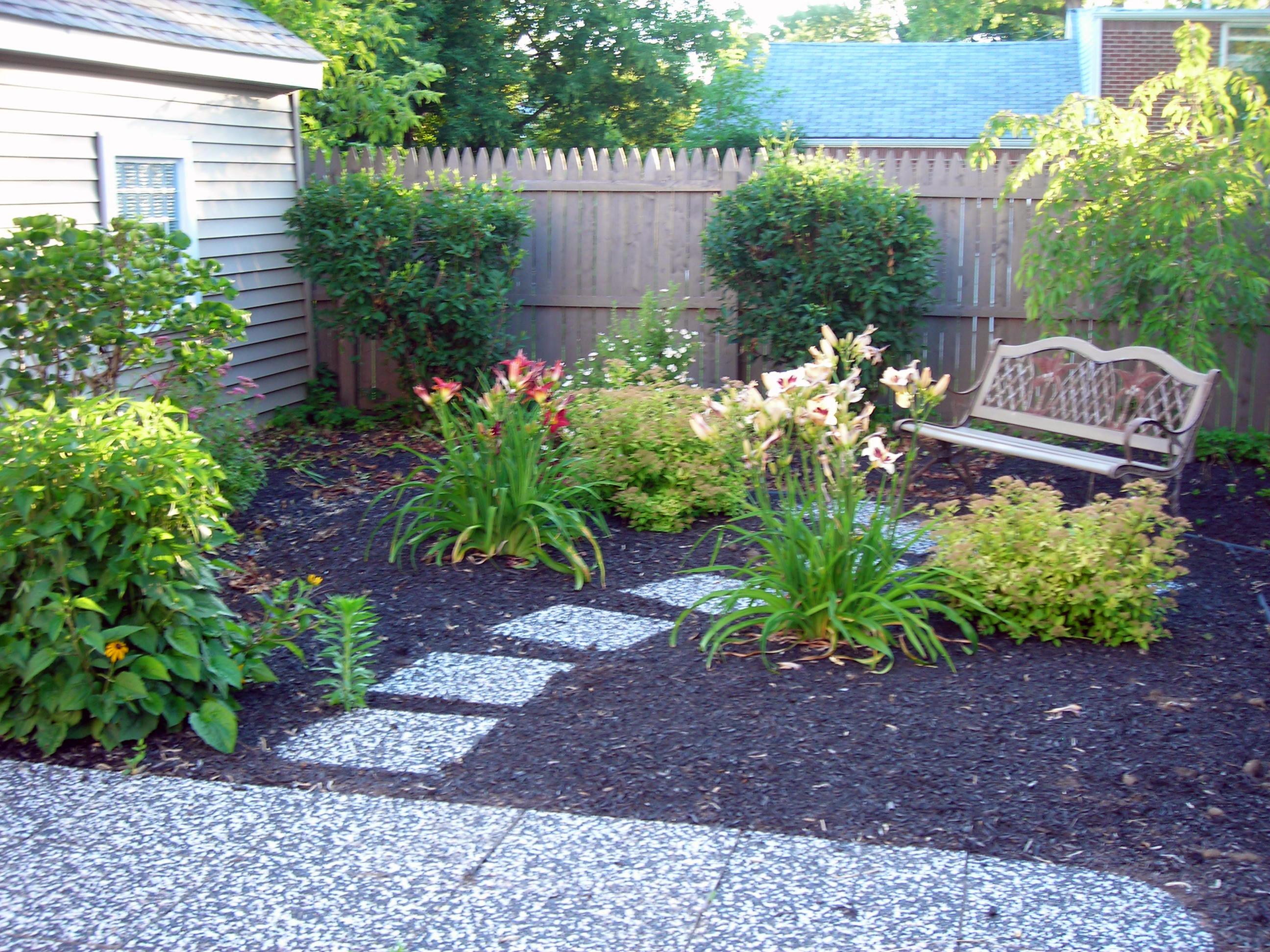 no grass back 1 | Buffalo-NiagaraGardening.com on Backyard Landscaping Ideas No Grass  id=79012