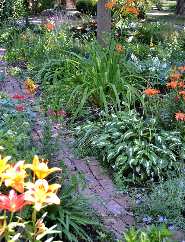 grassless front yard in Lewiston NY - Buffalo ... on Grassless Garden Ideas  id=68651