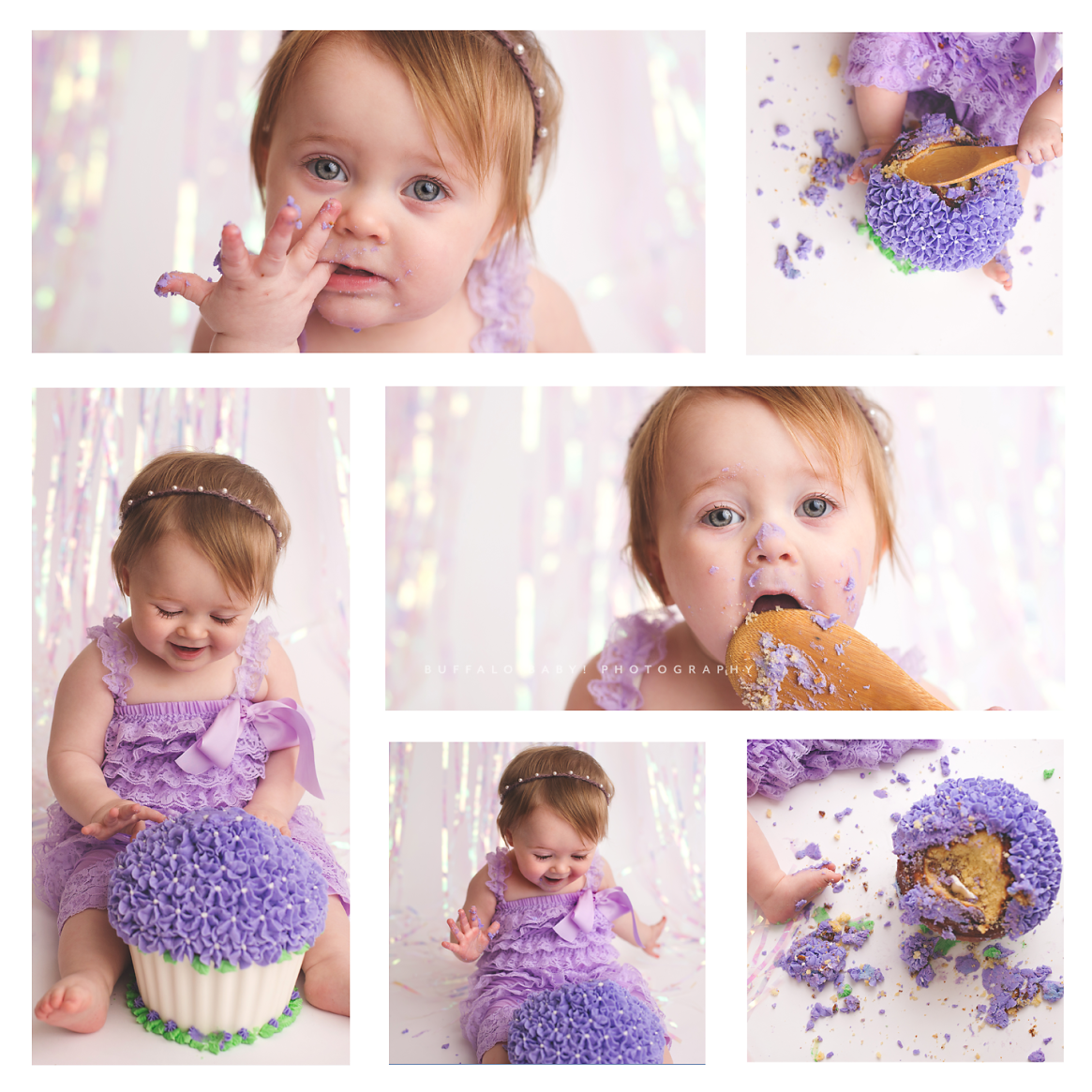 first birthday and cake smash