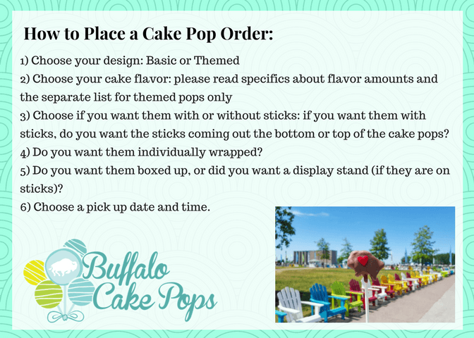 how to order cake pops