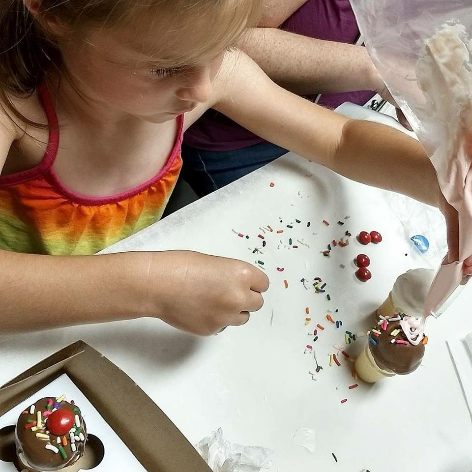 kids cake pop class 2