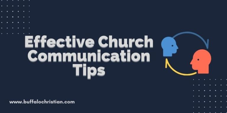 13 Tips for Effective Internal Church Communication