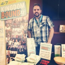 Mark Weber at the Kingdom Bound table