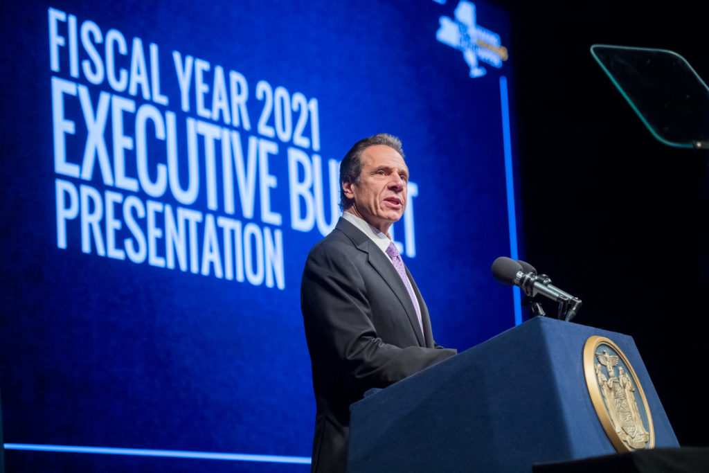 Governor-Andrew-Cuomo-presents-his-fiscal-year-2021-Executive-Budget-in-Albany-012220-IMG2-1024×683